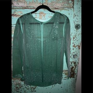 Neil Bieff Top and Jacket Size 14